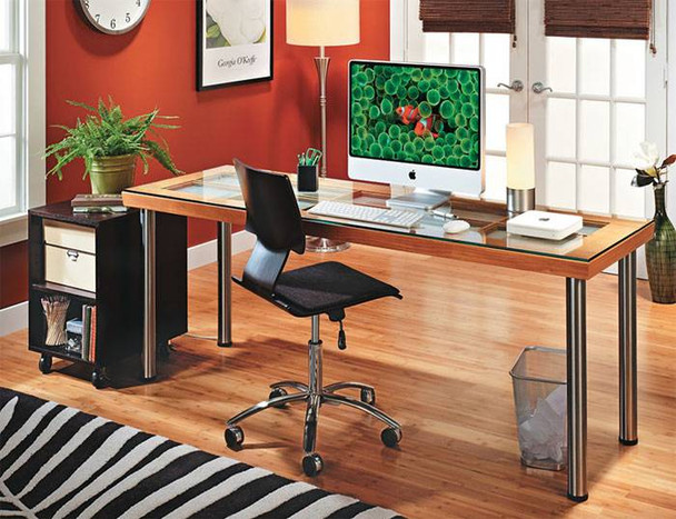 """28"""" Desk Height Table Legs - Set of Four"""