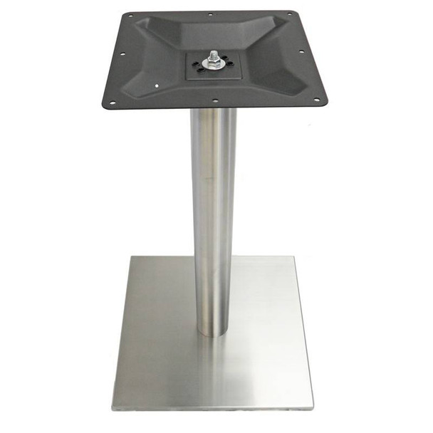 Quadrato Stainless Square Table Base