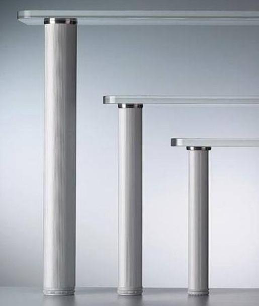 "34"" Glass Table Leg - Single"