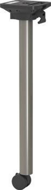 """1-1/2"""" Diameter Post With Welded Construction"""