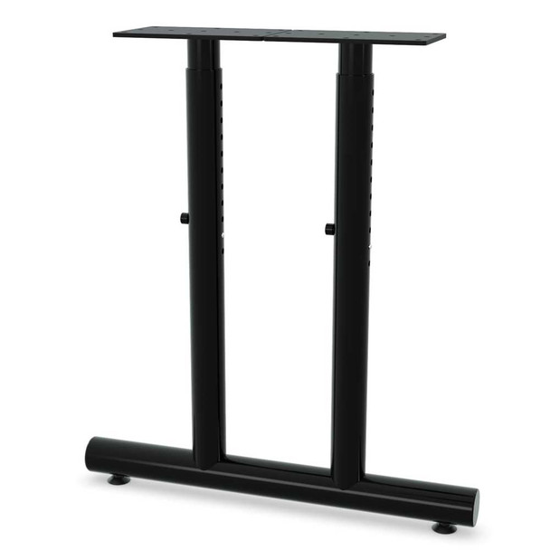 Adjustable Height Dual Column T-Shaped Base