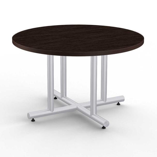 4 Column X-Shaped Table Base