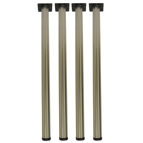 "40-3/4"" Thicker 3"" diameter Table Legs - Set"