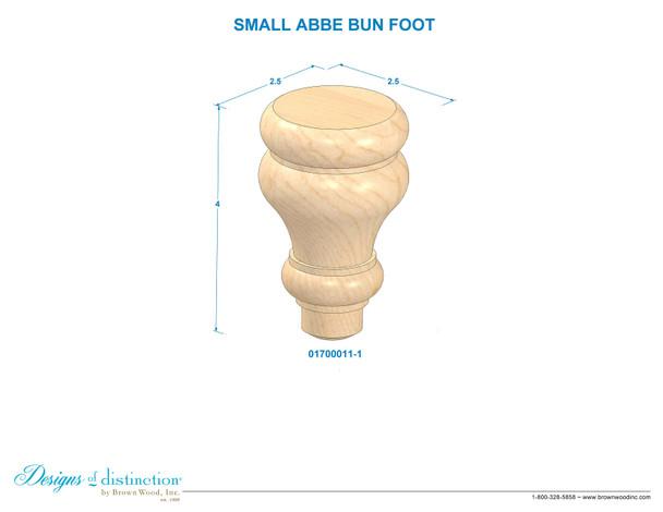 Small Abbe Bun Foot