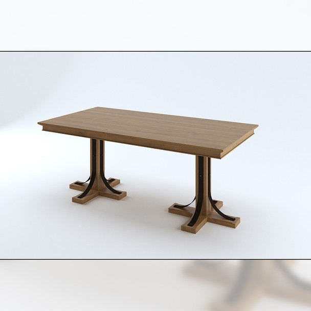 "4"" Lexington Table Pedestal Base"