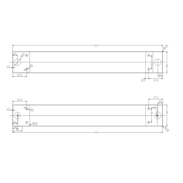 Legs for Structural Table - Set of 2