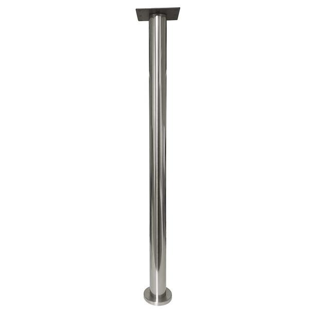 Slimline bolt down table leg