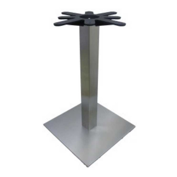 Stainless Steel Square Table Base