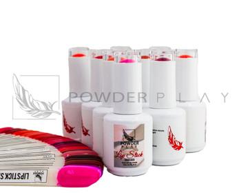 Lipstick Series Premium Gel Polish - 28 Color Bundle