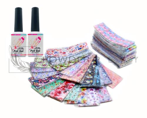 (64 Designs) - Floral Foil Transfer Bundle