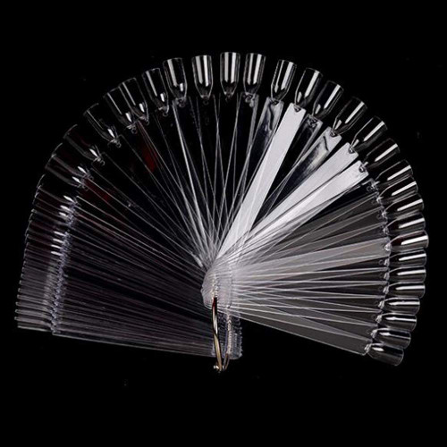 (Clear) Nail Swatches Sticks - 40 Packs