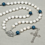 Miraculous Medal Magnesite Rosary