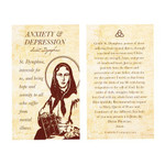 St. Dymphna Anxiety/Depression Decade Rosary with Card