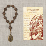St. Michael Strength Decade Rosary with Card