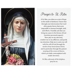 St. Rita Impossible Causes Decade Rosary and Card