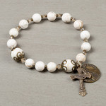 Fatima 100th Anniversary Rosary Bracelet