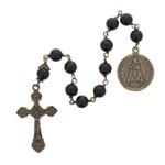 St. Michael Black Onyx Decade Rosary