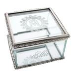 Ave Maria Glass Keepsake Box thumbnail 1