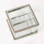 Personalized Glass Rosary Box