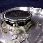 Personalized Victorian Rosary Box
