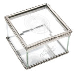 Miraculous Medal Glass Box