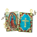 Our Lady of Guadalupe Rosary Pouch