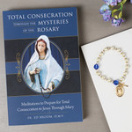 Total Consecration Through the Mysteries of the Rosary & Miraculous Medal Bracelet - Set