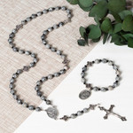 Holy Souls Rosary with Rosary Bracelet (Gift Set)