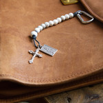 Our Lady Howlite Brave Beads Tenner Rosary