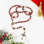 Joy To The World Red Rosary