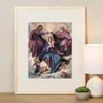 The Coronation of Virgin Framed Print