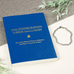 Marian Consecration Bracelet & Total Consecration To Jesus Through Mary Book (Set)