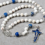 Our Lady of Lourdes Magnesite Rosary
