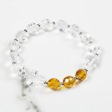 November Birthstone Rosary Bracelet