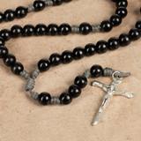 Nail Crucifix Paracord Rosary