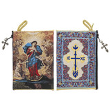 Mary Undoer of Knots Rosary Tapestry Pouch