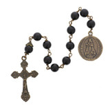 St. Michael Black Onyx Decade Rosary