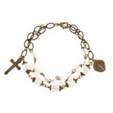 Light of Christ Handcrafted Rosary Bracelet