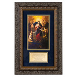 Mary Untier of Knots with Marriage Prayer Framed 8 x 14