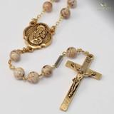 St. Joseph Bohemian Glass Rosary