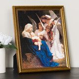 Song of the Angels Gold Framed Print