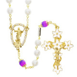Gold Plated Easter Rosary