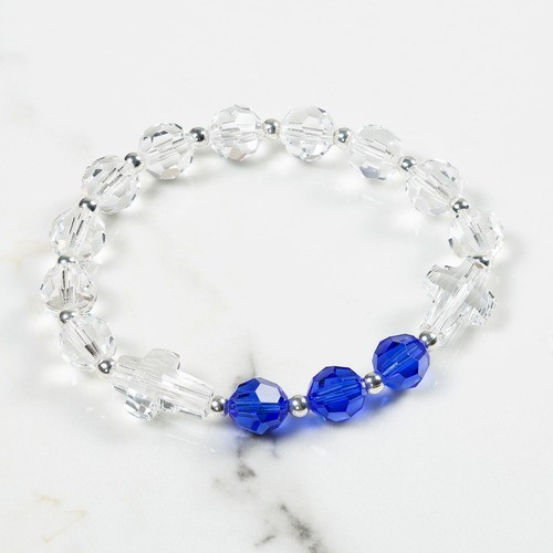 September Birthstone Rosary Bracelet