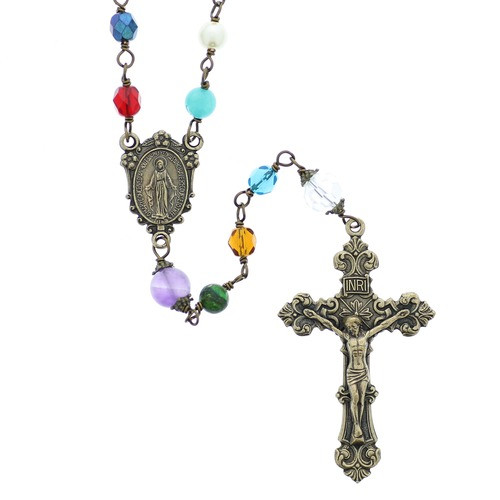 Cathedral Window Rosary