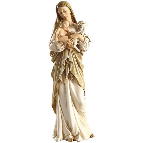"""Madonna and Child with Lamb Figure 12"""""""