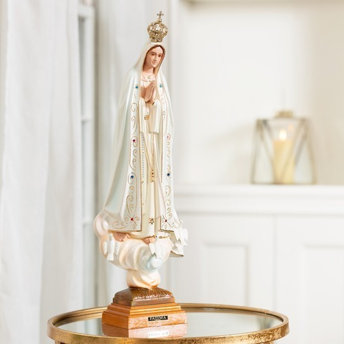 """Our Lady of Fatima 20"""" Statue"""