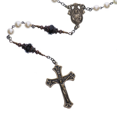 Pearl Sacred Heart Rosary