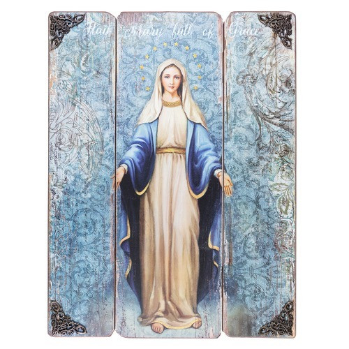 Our Lady of Grace Wall Plaque