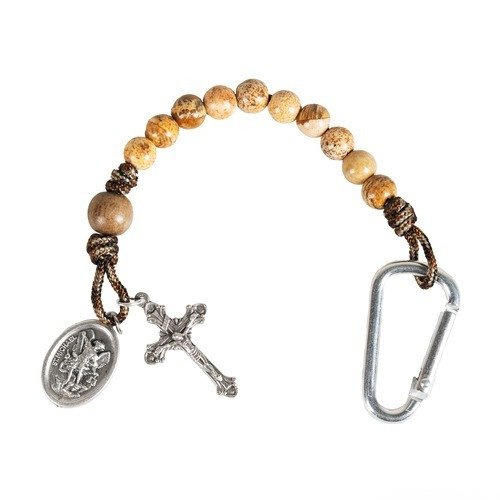 St. Michael Brave Beads Paracord Tenner