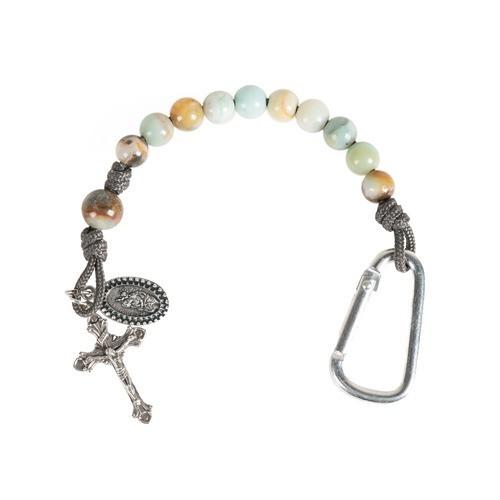 St. Christopher Brave Beads Tenner Rosary